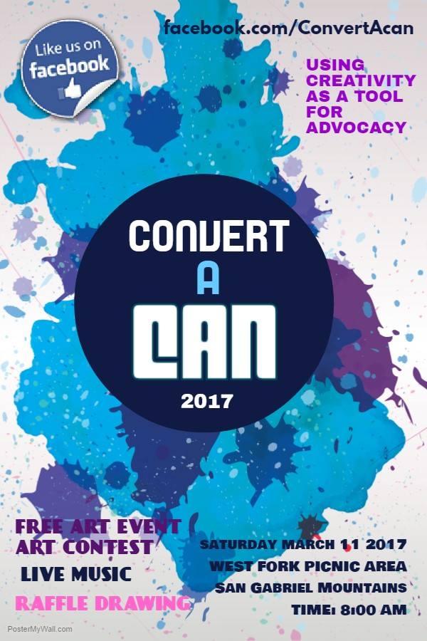 convert a can event poster