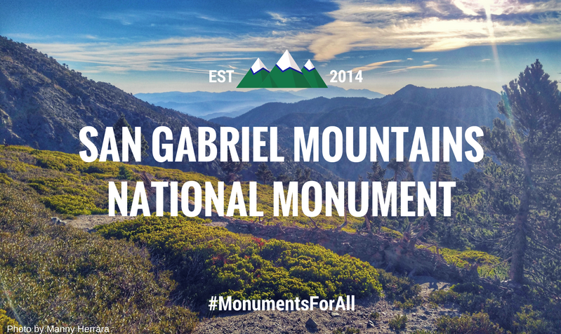 San Gabriel MountainsNational Monument (1)