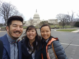 With Bryan Matsumoto (left) and Duyen Tran (right).