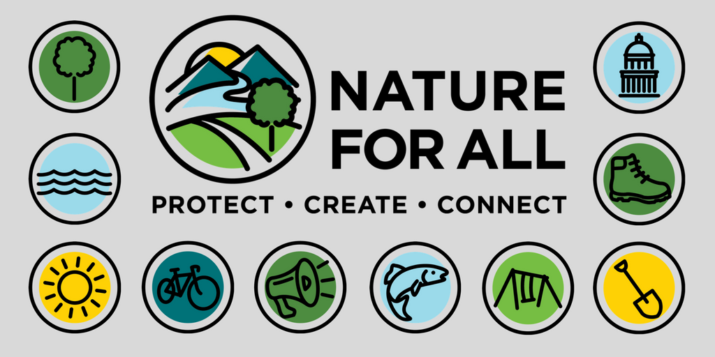 nature for all twitter icon logo